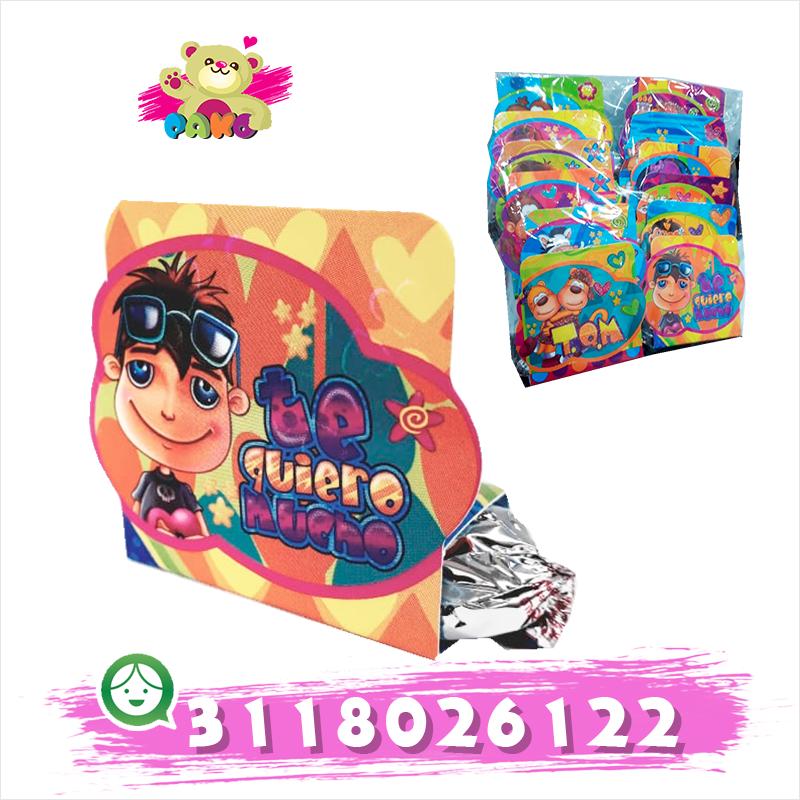 Kit de chocolates con mensajes