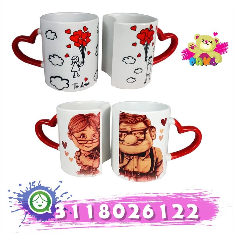 Mugs para parejas.