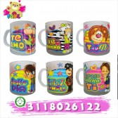Mugs Decorado Escarchado