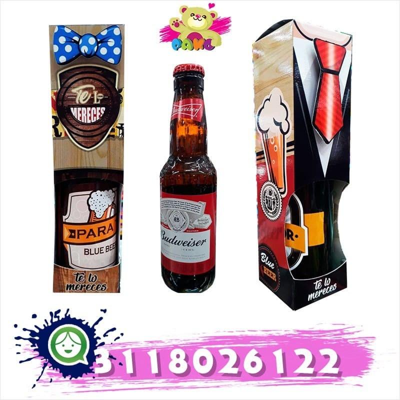 Cerveza decorada y original.