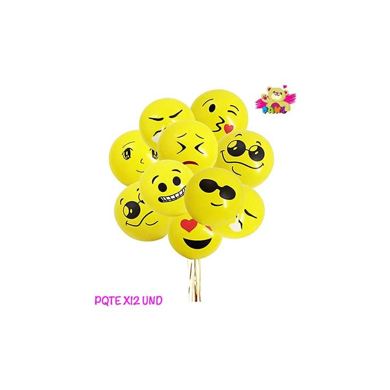 Globo Caritas, Globos Emoji