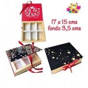 Caja Bombonera, Caja de Cartón para Dulces