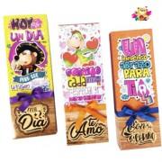 Choco Star. Chocolates x 6 und