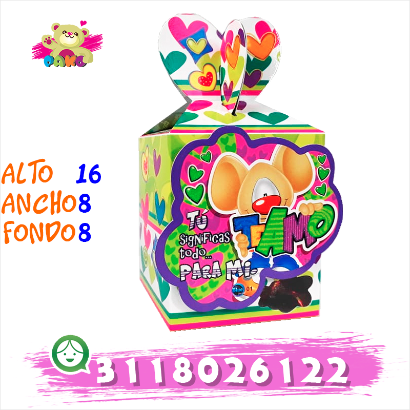 Caja Chocolates Box