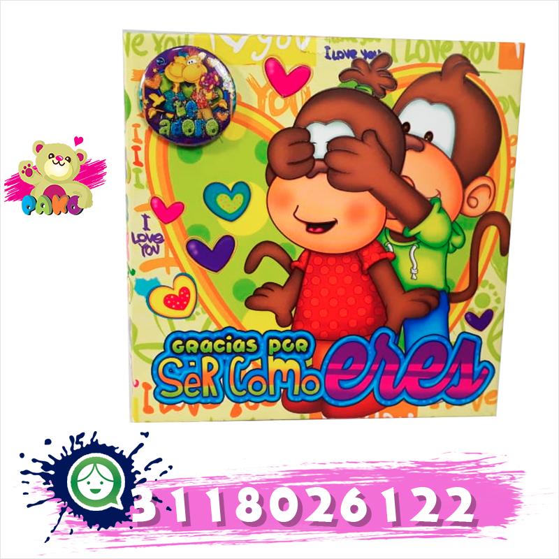 Caja decorada con bombones